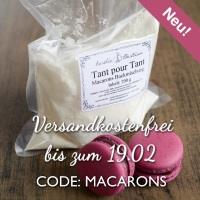 Macarons Tant pour tant Backmischung