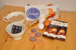 Rezept: Gâteau au mocca et aux macarons pour Antje (Mocca Macarons Torte für Antje)   www.franzoesischkochen.de