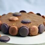 Gâteau au mocca et aux macarons pour Antje (Mocca-Macarons-Torte für Antje)