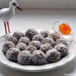 Futter für Schwangere : trockene Fruchtbällchen