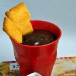 "Crème au chocolat façon ""Mont Blanc"" (Schokoladencreme ohne Eier)"