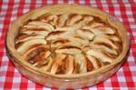 Rezept: Tarte aux pommes à ma façon (Französische Apfeltarte)   www.franzoesischkochen.de