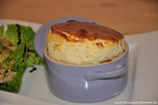 Rezept: Soufflé au fromage (Käse Soufflé)   www.franzoesischkochen.de