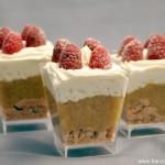 Rezept: Tartelette Fraises Rhubarbe pour la fête des Mères (Erdbeer Rhabarber Törtchen für Muttertag)   www.franzoesischkochen.de