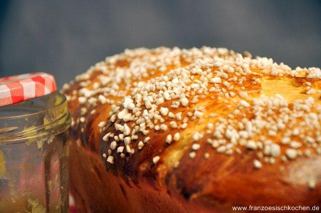 Rezept: La brioche de Clément (Cléments Brioche)   www.franzoesischkochen.de