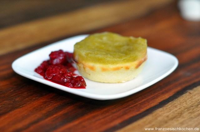 Cheesecake à la rhubarbe ( Rhabarber Cheesecake)