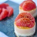 Entremets pamplemousse et speculoos (Spekulatius – Grapefruit Törtchen)