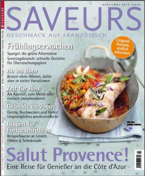 Artikel im Saveurs April/Mai !