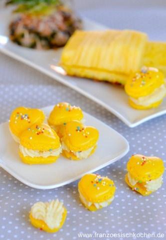 Rezept: Macarons Tonka Ananas   www.franzoesischkochen.de