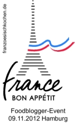 Cuisine francaise – das kulinarische Blogger-Event (Einsendeschluss 15.09.2012)