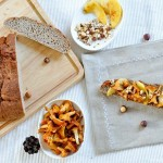 Tartine d'automne et recette de Pain à la châtaigne (Herbst Schnitte auf Esskastanien-Brot)