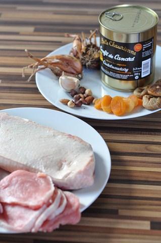 Rezept: Terrine de canard au Porto et aux figues   www.franzoesischkochen.de