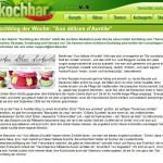Kochblog der Woche bei kochbar.de