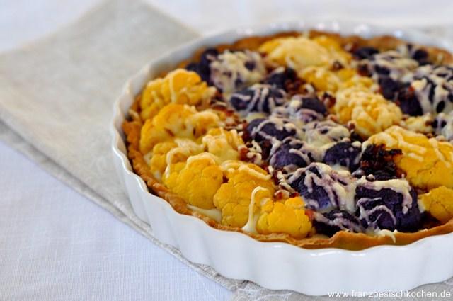 Rezept: Tarte à la du Barry   www.franzoesischkochen.de