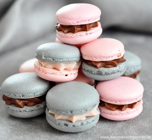 Rezept: Macarons à la réglisse et à la Badiane (Lakritz und Sternanis Macarons)    www.franzoesischkochen.de