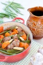 Rezept: Langoustines au Noilly Prat und Poulet crème et Morilles   Foodbloggerevent France Bon Appétit Teil 2   www.franzoesischkochen.de