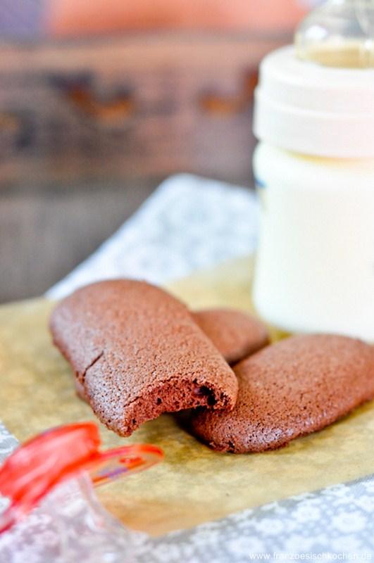 Rezept: Biscuits à la cuillère pour Bébé ( Löffelbiskuit )   www.franzoesischkochen.de