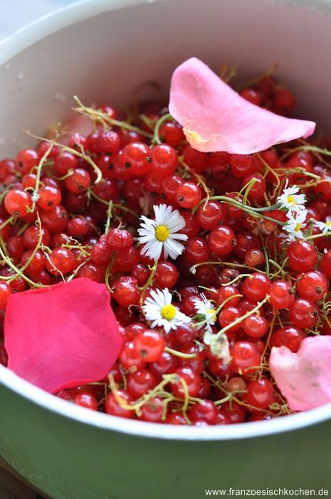 Rezept: Confiture Fruits Fleurs    www.franzoesischkochen.de