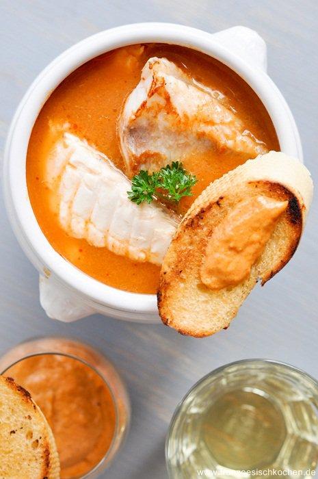 Rezept: Wie man eine Bouillabaisse von Marseille in Deutschland zaubern kann....   www.franzoesischkochen.de