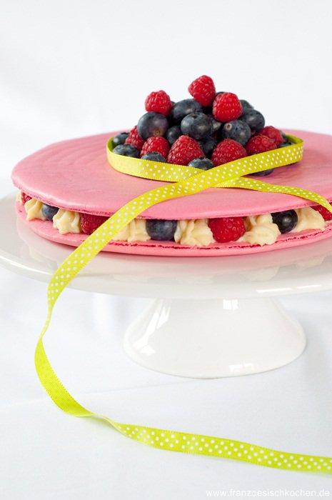 Rezept: Gâteau Macaron    www.franzoesischkochen.de