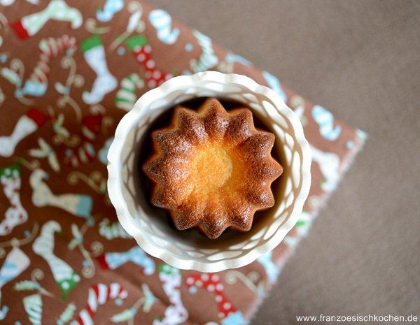 Rezept: Cannelés à la Pistache (Cannelés mit Pistazien)   www.franzoesischkochen.de