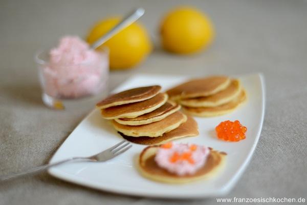 Rezept: Blinis mit Tarama....    www.franzoesischkochen.de