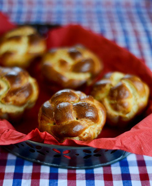 Rezept: Brioche du dimanche matin et goûter ( Sonntags Brioche für das Frühstück oder das Vesper )   www.franzoesischkochen.de