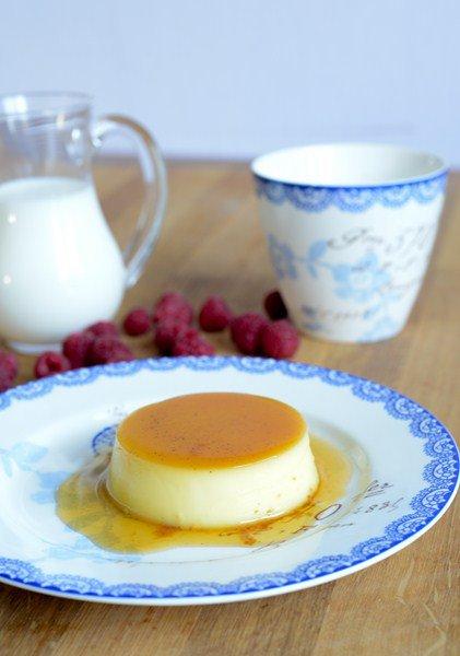 Rezept: Crème renversée au caramel ( umgekippter Vanillepudding mit Karamell )   www.franzoesischkochen.de