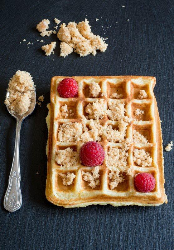 Rezept: 1, 2, 3, Gaufres zum Frühstück (Waffeln)   www.franzoesischkochen.de