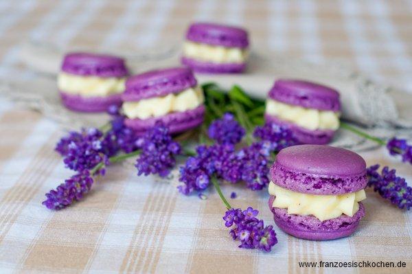 Danke für alles… die Gewinner und ein Lavendel-Macarons Rezept