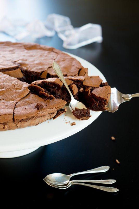 Rezept: Mein Blog wird bald 5 ! Glutenfreier Schokoladenkuchen und Give away !   www.franzoesischkochen.de
