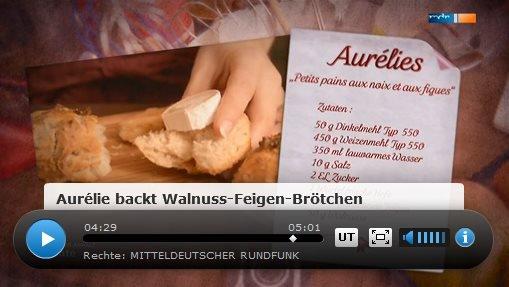 Rezept: Petits pains aux noix et aux figues (Walnuss Feigen Brötchen)   www.franzoesischkochen.de