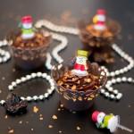 Pain d'épices façon Cupcake ( Lebkuchen Cupcake mit knuspriger Ganache )
