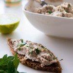 Rillettes de sardines et citron vert ( Aufstrich mit Sardinen und Limette )