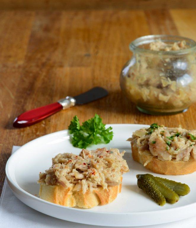 rillettes-de-poulet-roti-rillettes-von-gegrilltem-hahnchen-aperitif-fleisch-kinder-rezepte-salat-snacks-und-kleine-gerichte-vorspeisen-franzosisch-kochen-by-aurelie-bastian