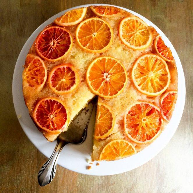 De l'or, mon gateau vite fait à l'orange (ein Goldstück, mein schneller Orangen-Kuchen )