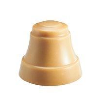 Glocke aus weißer Schokolade mit Nougat