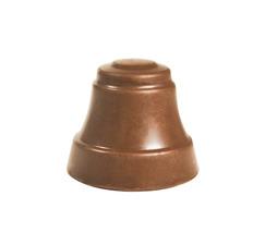 Glocke aus Milchschokolade mit Nougat