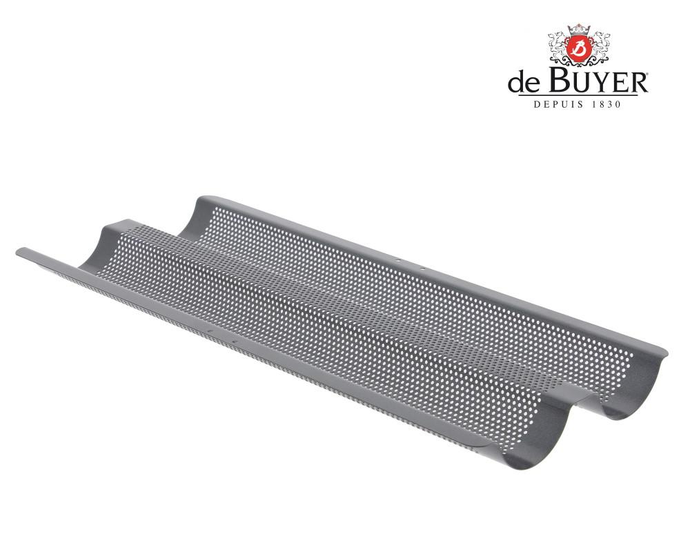 Baguette-Backblech Baguetteblech Backform Baguetteform Antihaft Beschichtung Q1