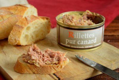 Enten-Rillettes mit Piment d'Espelette aus dem Baskenland 190g