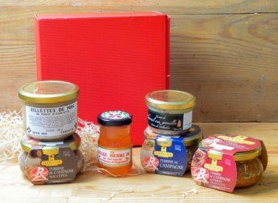Gourmet-Präsentbox Geschenkkorb