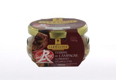 Landterrine – Terrine de campagne – mit Piment d'Espelette Label Rouge 180g