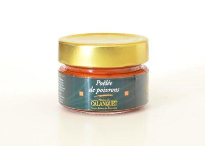 """Paprika-Aufstrich aus der Provence """"Poêlée de poivrons"""" 90 g"""