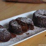 Fondant au chocolat (Schokoladenkuchen mit flüssigem Kern)