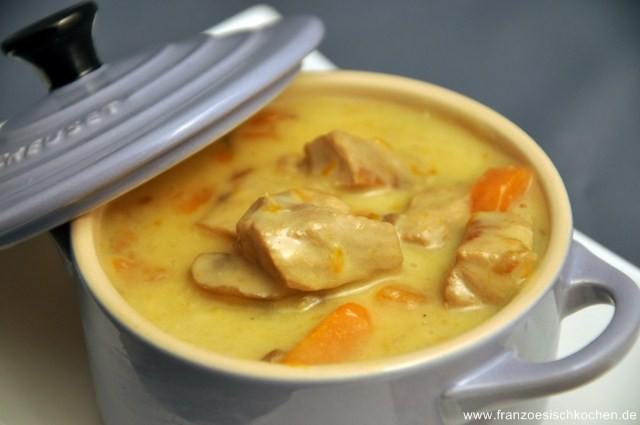 Blanquette de Veau | Rezept | Französisch kochen
