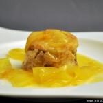 Tatin de Noël au beurre salé (Weihnachtliche Apfel-Tarte-Tatin mit Salzbutter)