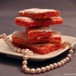 Selbstgemachte Biscuits Roses de Reims