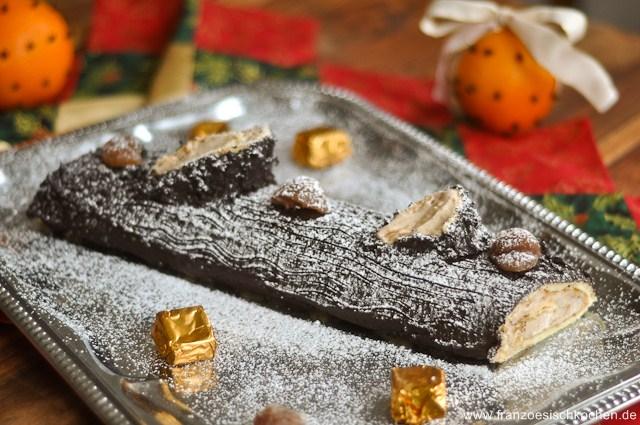 Bûche De Noël | Rezept | Französisch Kochen
