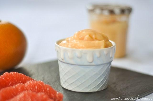 Pamplemousse curd ( Grapefruit-Curd)