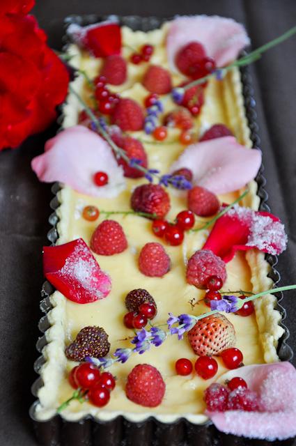 tarte-du-jardin-fruits-et-fleurs